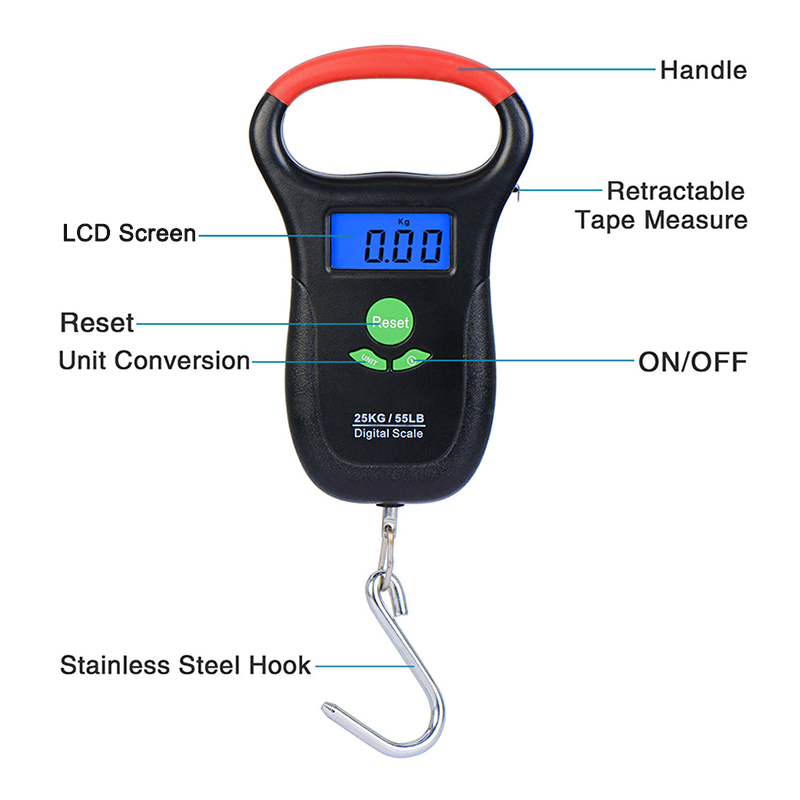 Portable Electronic Digital Fish Scale