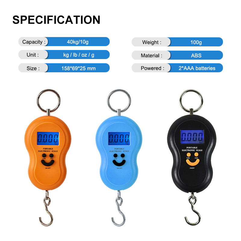 Travel Digital Pocket Fish Weiging Scale